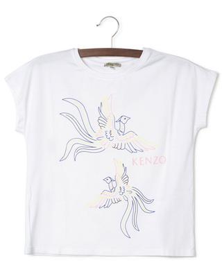 T-Shirt aus Jersey mit Print Phoenix Celebration KENZO