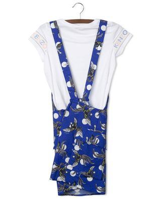 Phoenix Celebration printed dungaree dress and T-shirt set KENZO
