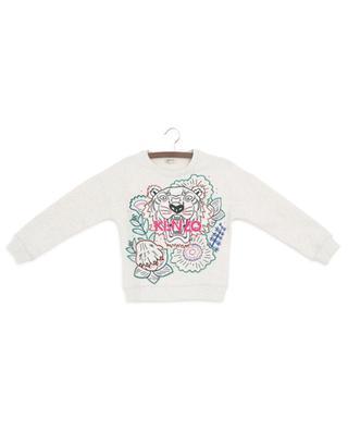 Disco Jungle embroidered crew neck sweatshirt KENZO