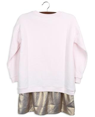 Ensemble robe T-shirt et sweat-shirt brodé Gold Tiger KENZO