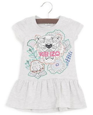 Disco Jungle printed jersey baby dress KENZO