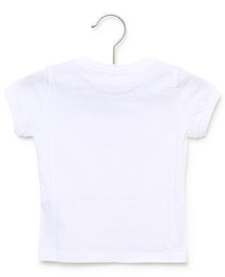 T-shirt en jersey brodé d'un oiseau IL GUFO