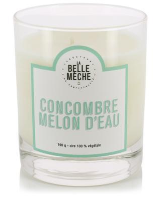 Bougie parfumée Concombre Melon d'Eau LA BELLE MECHE