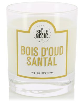 Bougie parfumée Bois d'Oud Santal LA BELLE MECHE