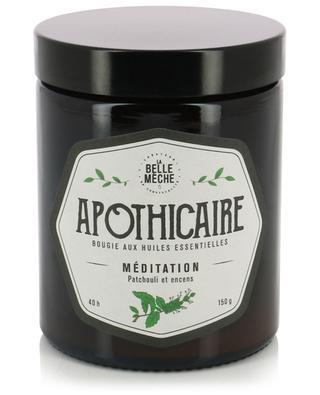 Apothicaire Méditation essential oil candle LA BELLE MECHE