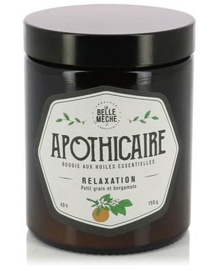 Apothicaire Relaxation essential oil candle LA BELLE MECHE