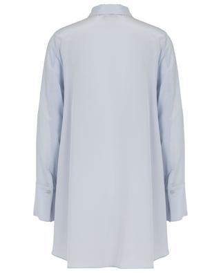Oversize-Hemd aus Seide mit Schluppe SLY 010