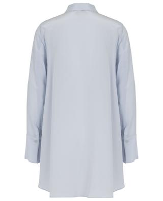 Chemise oversize à lavallière en soie SLY 010