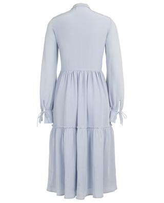 Ruffled midi dress with pin tucks SLY 010