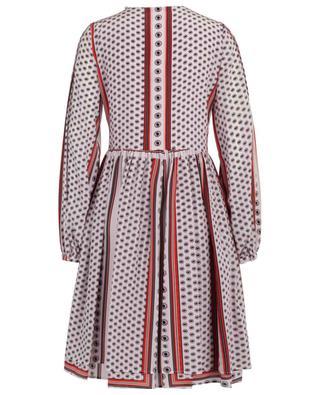 Midi-Kleid aus Seide mit Print SLY 010
