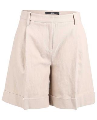 Shorts aus Baumwolle und Leinen SLY 010