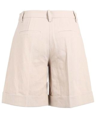 Cotton and linen shorts SLY 010