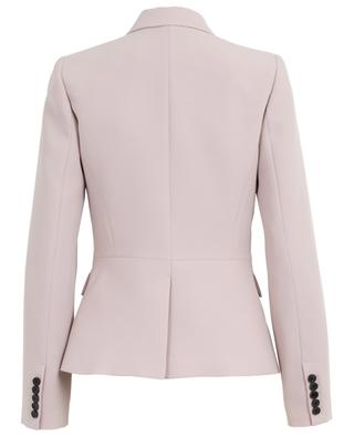 Double-breasted crepe blazer SLY 010