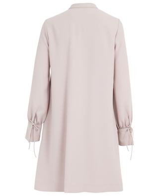 Robe courte en crêpe SLY 010