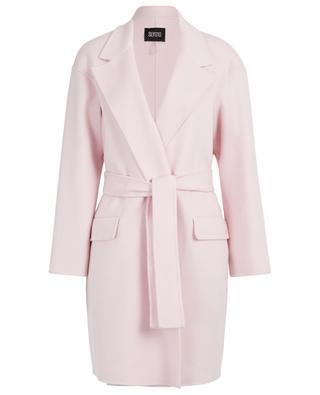 Manteau portefeuille double-face en laine et cachemire SLY 010