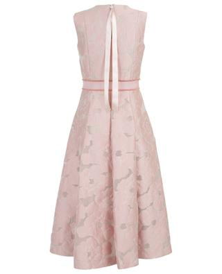 Langes Kleid aus Seidenmix SLY 010
