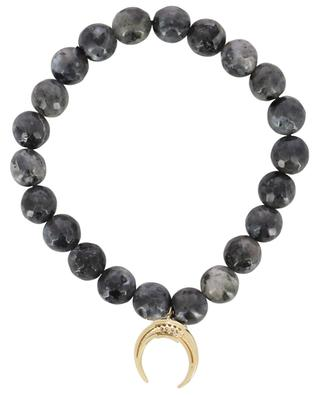 Golden moon charm bracelet MOON C° PARIS