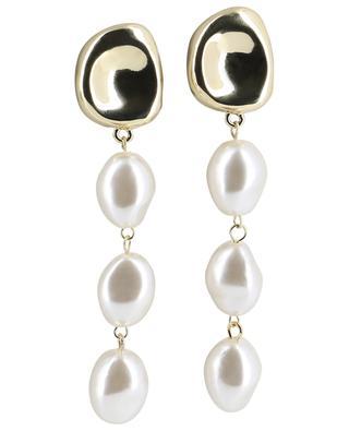 Stud earrings with pearls MOON C° PARIS