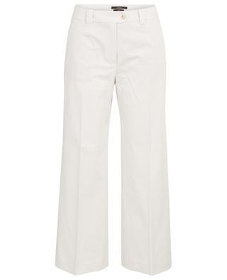 Weite Hose aus Baumwollmix WINDSOR