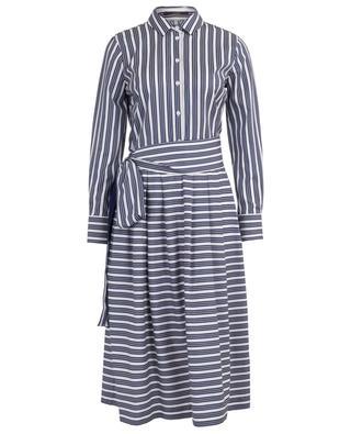 Midilanges Hemdkleid mit Streifen WINDSOR