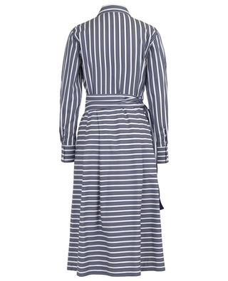 Striped midi-length shirt dress WINDSOR