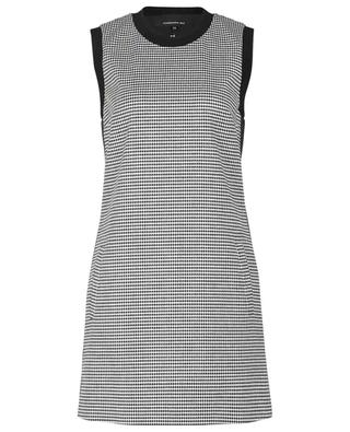 Ärmelloses Kleid mit Hahnentritt-Print BARBARA BUI