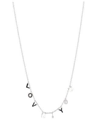 Love You diamond adorned necklace GBYG