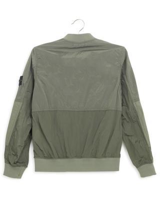 40335 Metal Watro Ripstop nylon bomber jacket STONE ISLAND JUNIOR