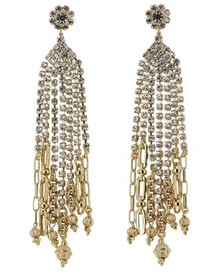 Grace gold and crystals earrings GAS BIJOUX