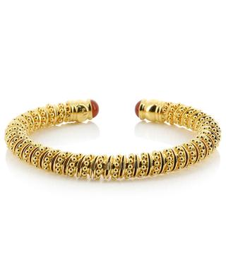 Petra Cabochon golden cuff GAS BIJOUX