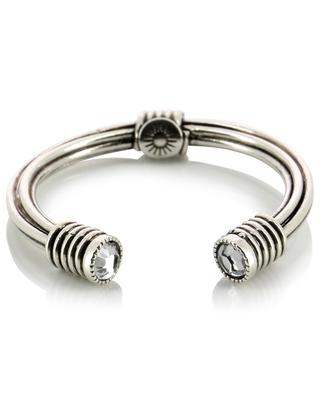 Ariane Strass open silver ring GAS BIJOUX