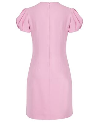 Cady mini sheath dress with short puff sleeves ERMANNO SCERVINO