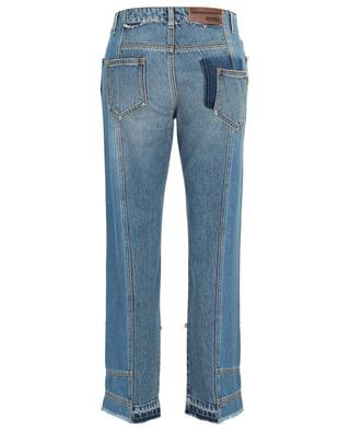 Patchwork effect boyfriend jeans ERMANNO SCERVINO