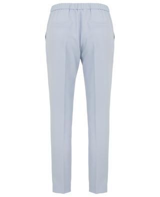 Pantalon skinny en crêpe avec taille élastiquée SLY 010