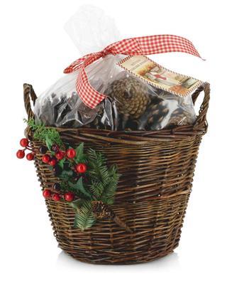 Panier rempli de pot-pourri Scented Fireside Basket ENCHANTE