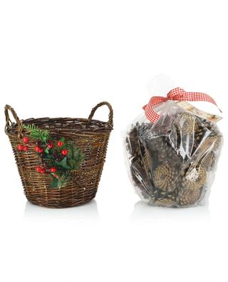 Korb mit Potpourri Scented Fireside Basket ENCHANTE