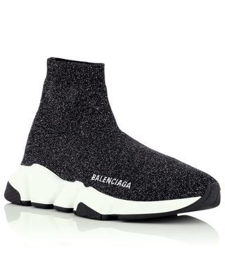 Speed LT lurex knit sneakers BALENCIAGA
