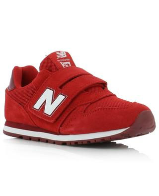373 Hook & Loop faux suede and mesh sneakers with Velcro straps NEW BALANCE