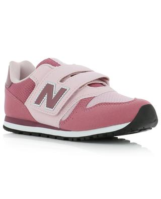 373 faux suede and mesh sneakers with Velcro straps NEW BALANCE