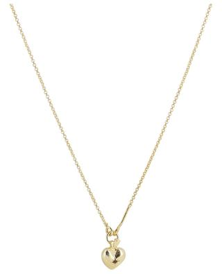 Valentin Rubis golden necklace with heart pendant MONSIEUR PARIS
