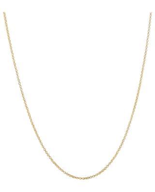 Goldene Halskette mit Herzanhänger Valentin Rubis MONSIEUR PARIS
