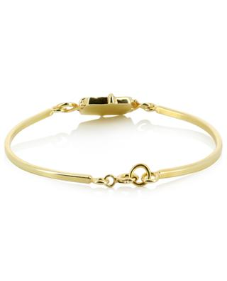 Bracelet doré détail émail Alfonse MONSIEUR PARIS
