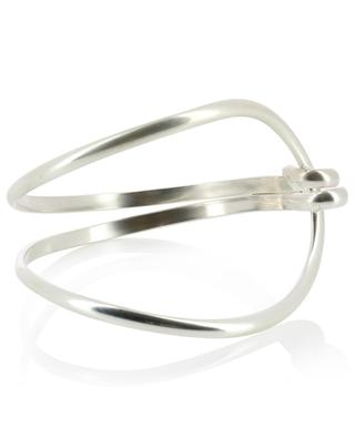 Yvette silver cuff MONSIEUR PARIS