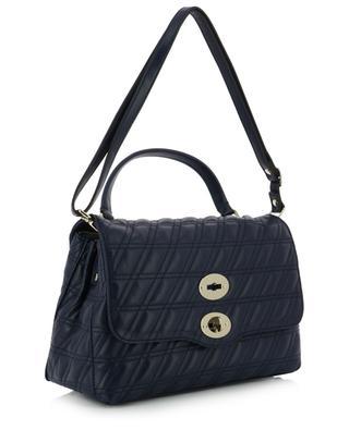 Postina S Linea Zeta quilted leather handbag ZANELLATO