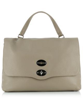 Postina M Daily grained leather handbag ZANELLATO