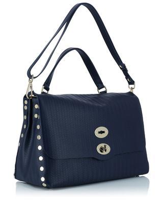Postina M Cachemire Blandine wave effect leather handbag ZANELLATO