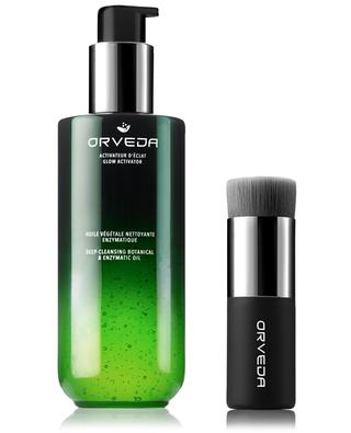 Deep-cleansing botanical and enzymatic oil - 200 ml ORVEDA