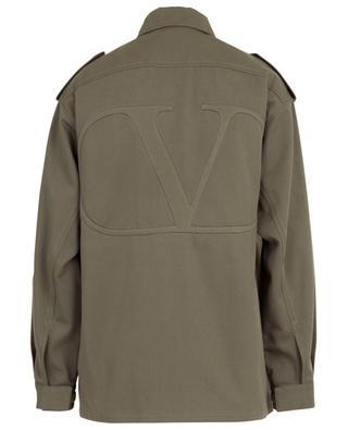 VLOGO gabardine lighweight jacket VALENTINO
