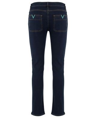 Slim-Fit-Jeans aus Denim-Stretch VGOLD Dark Blue VALENTINO