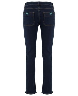 Jean slim en denim stretch VGOLD Dark Blue VALENTINO